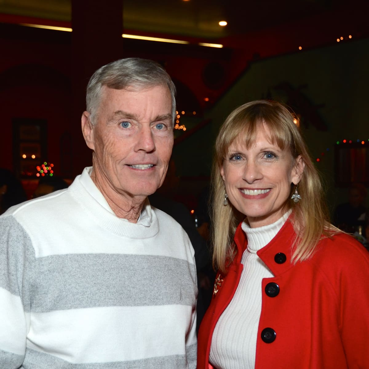 News, Mayor's Hispanic Advisory Board party, Dec. 2015,   Jack Christie, Karen Garcia