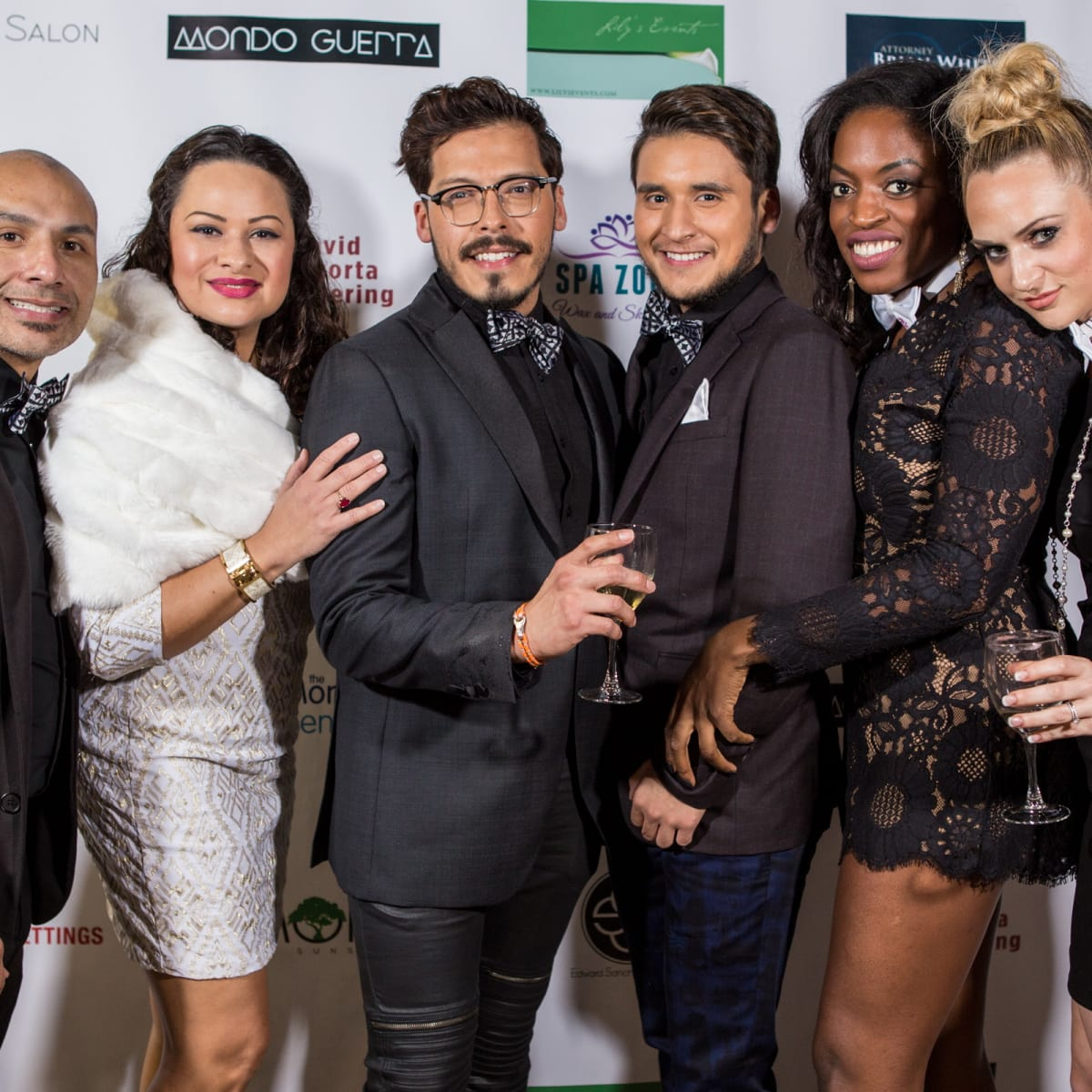 Mondo Guerra event Angel Reyes, Zoey Smallwood, David Armendariz, Jesse Gudino, Bunmi Bush, Jessie Raak