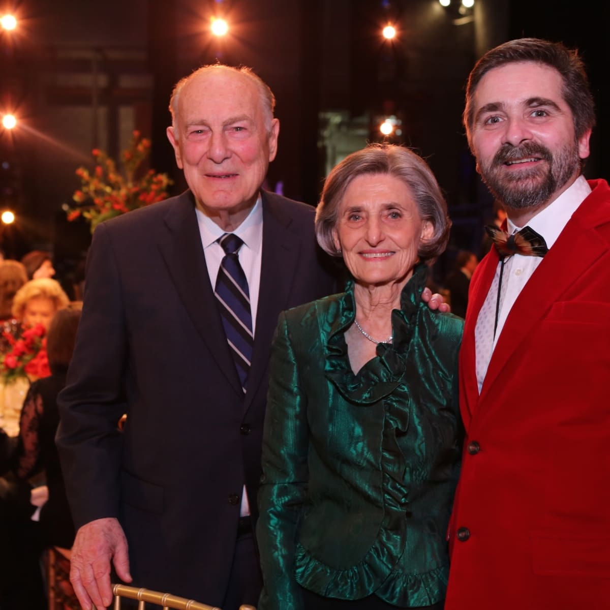 News, Houston Ballet Jubilee of Dance, Dec. 2015, Ted Barr, Melza Barr, Stanton Welch