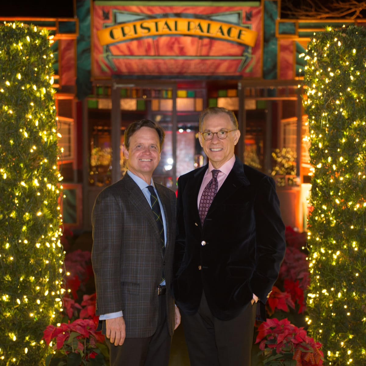 News, Bayou Bend Spiegeltent, Dec. 2015, Gary Tinterow, Christopher Gardner
