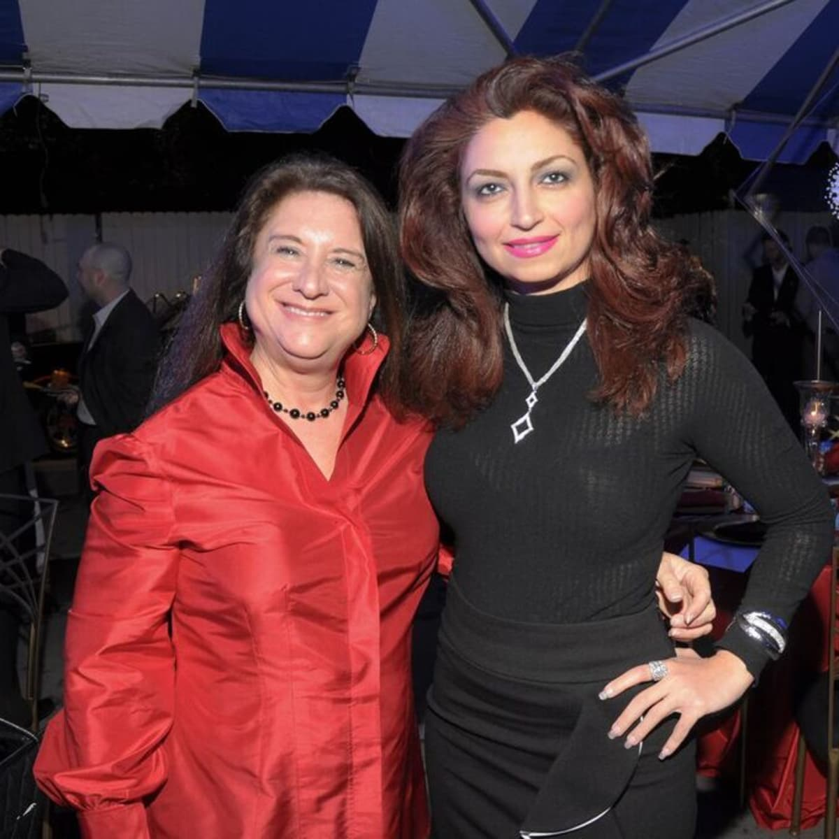News, Cheers 4 Charity, Nov. 2015, Deborah Colton, Mahzad Mohajer