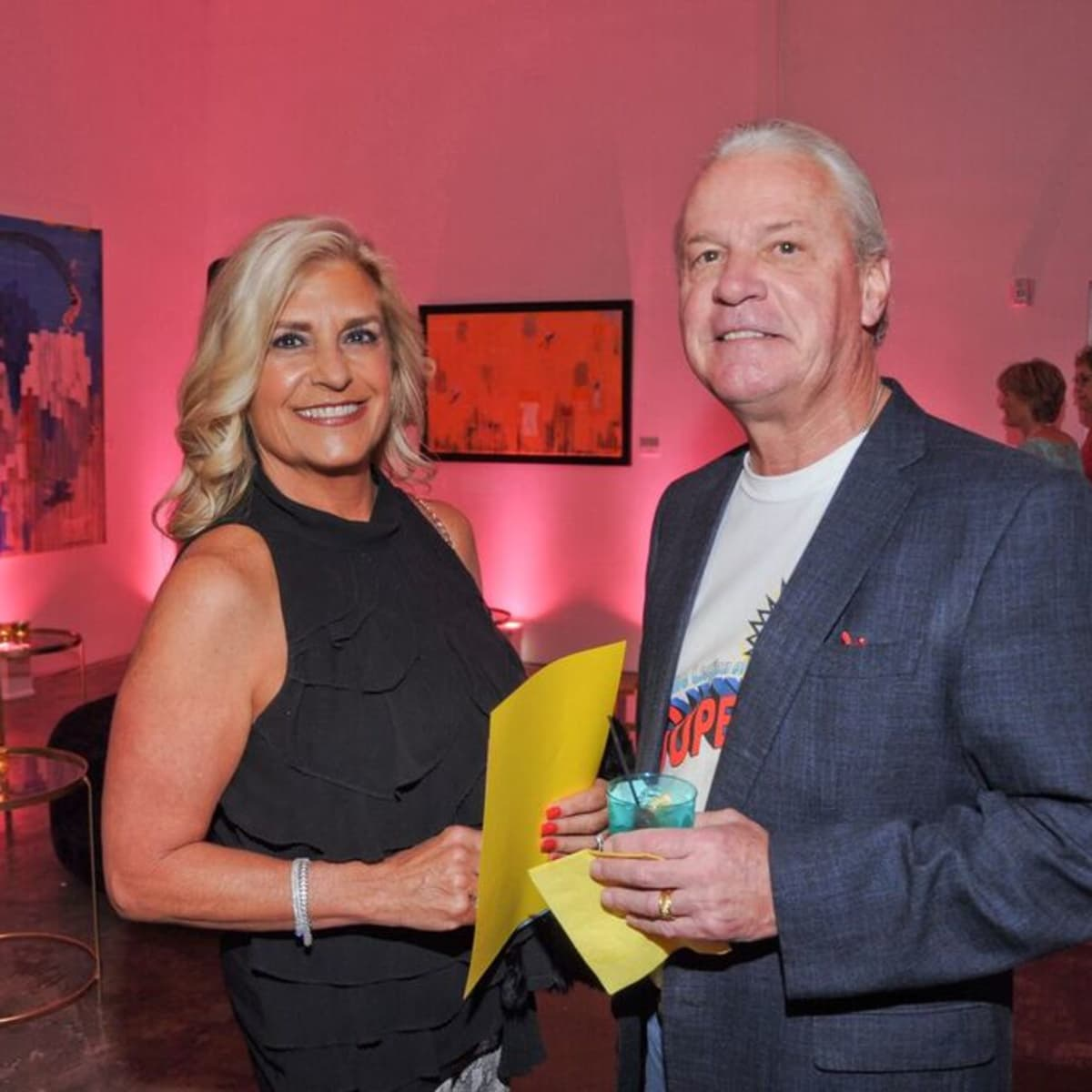 News, Cheers 4 Charity, Nov. 2015, Vicki Lehner, Bill Lehner