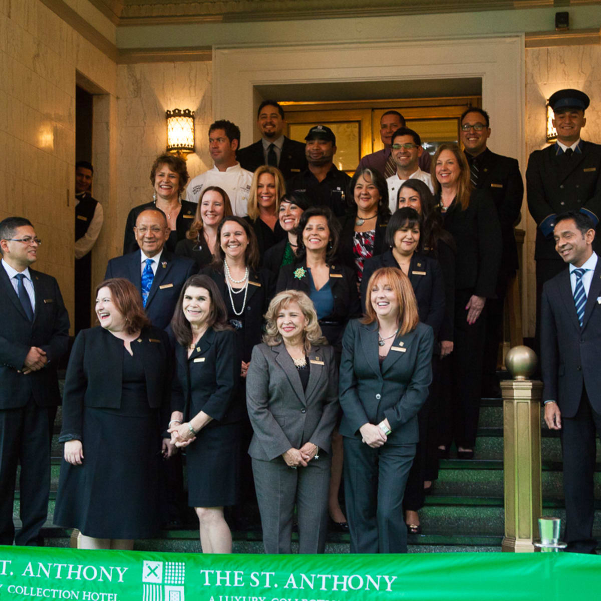 The Saint Anthony Hotel San Antonio Grand Reopening 2015 Luxury Collection management team