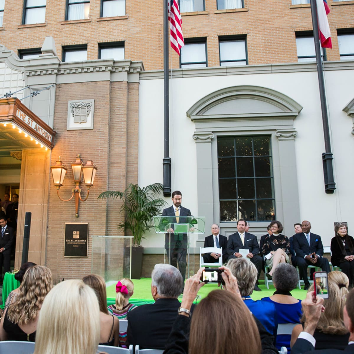 The Saint Anthony Hotel San Antonio Grand Reopening 2015 Brandon Raney
