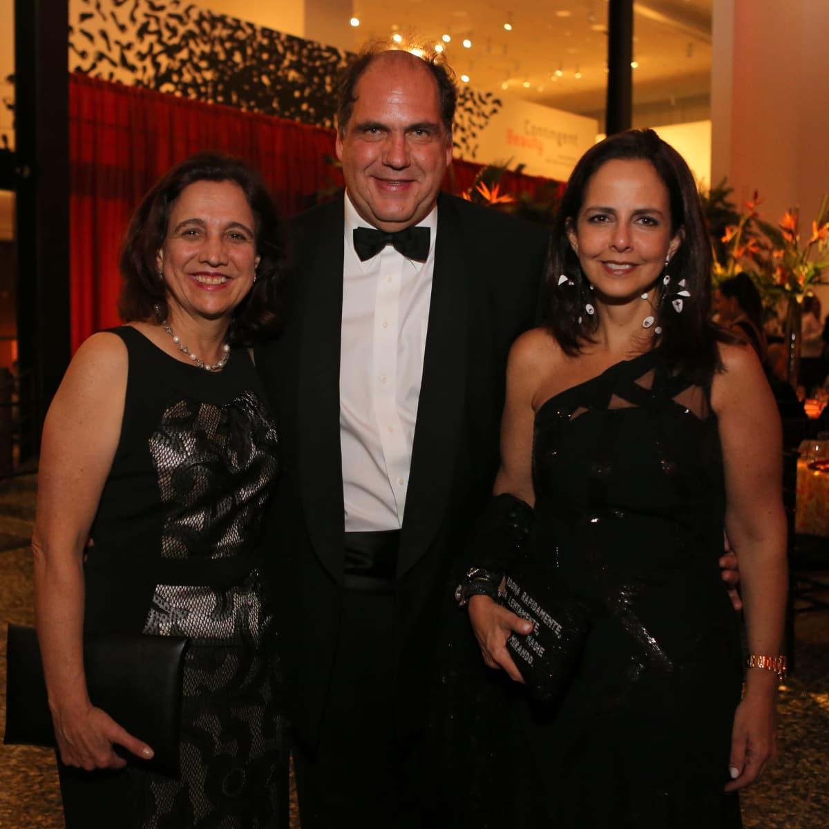 News, MFAH Latin Experience, Nov. 2015 Ana Milena Munoz; Steven and Solita Mishaan