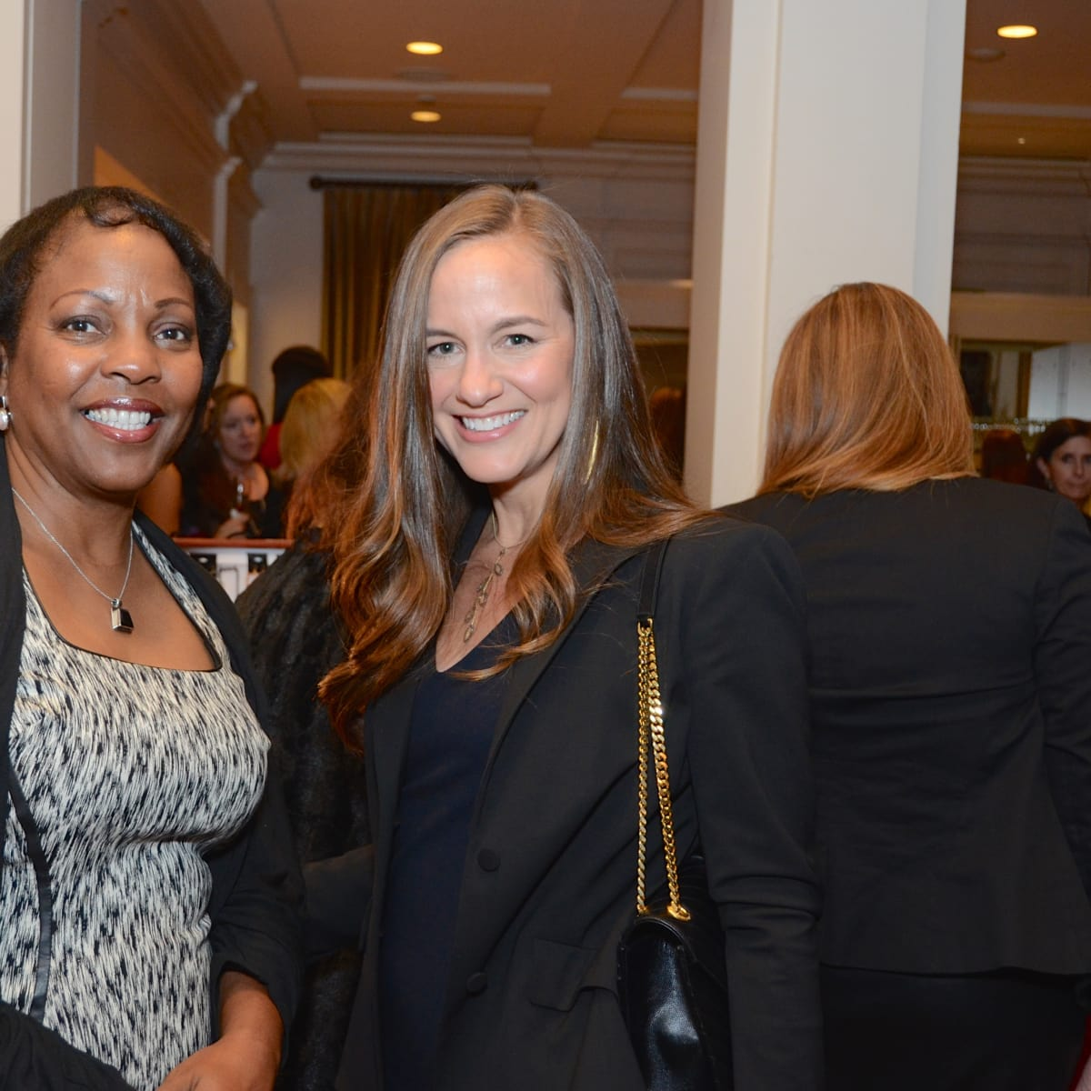 Houston, Dress for Success A Night Out Event, November 2015, Genora Boykins, Karra Marino