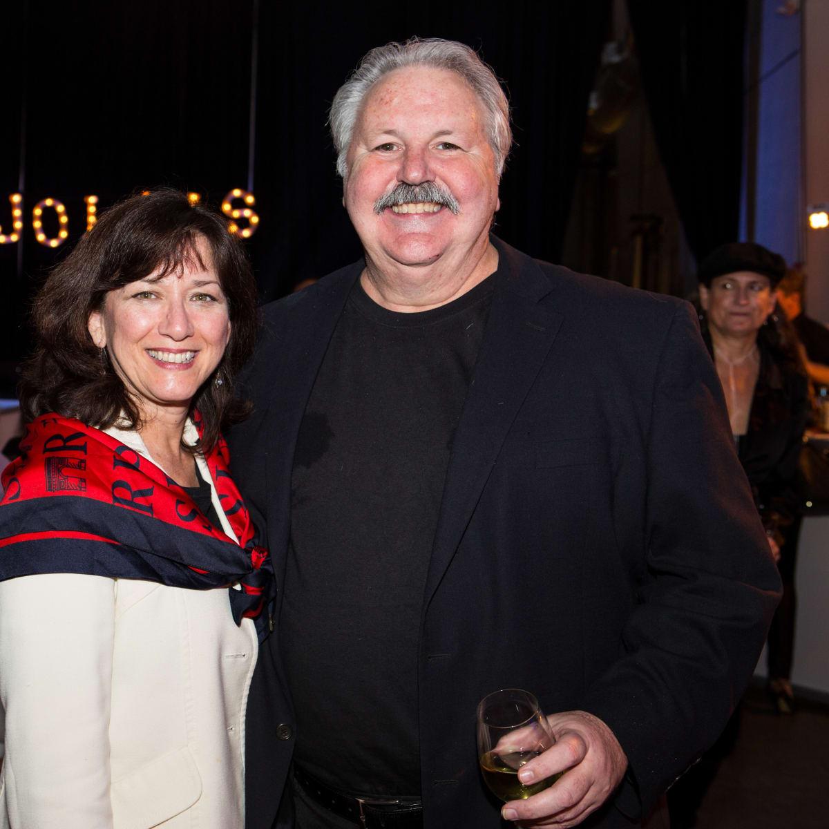 News, Beaujolais Nou eau Festival, Nov. 2015,Lanny Griffith and Debbi Elliott-Griffith