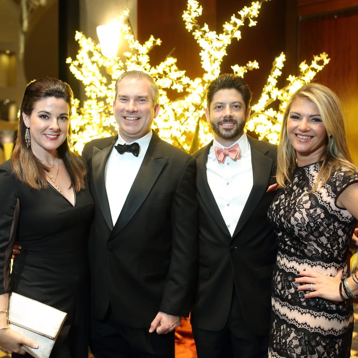 News, Shelby, Women's Home gala, Nov. 2015,  Elaine and Jim Turner, Brendan and Jenna Gilbert