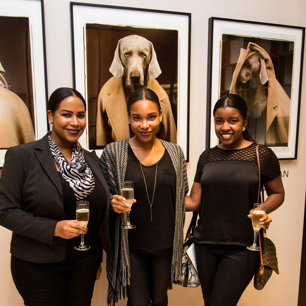 Max Mara William Wegman event Jessica Price,Melody Price and Michelle Hogan
