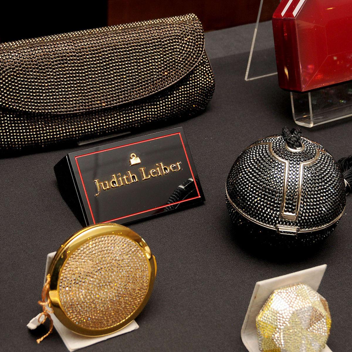News, shelby, HGO Luncheon, Nov. 2015 Judith Leiber bags