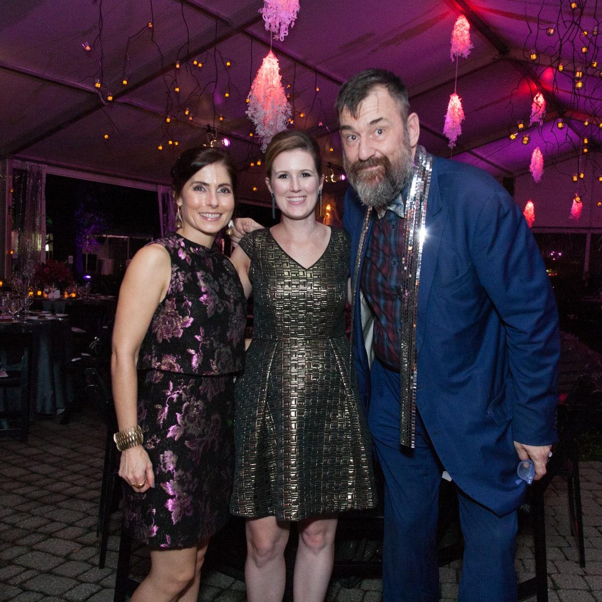 News, Shelby, CAMH Another Great Night, Nov. 2015, Amber Winsor, Amanda Bredbenner, Bill Arning