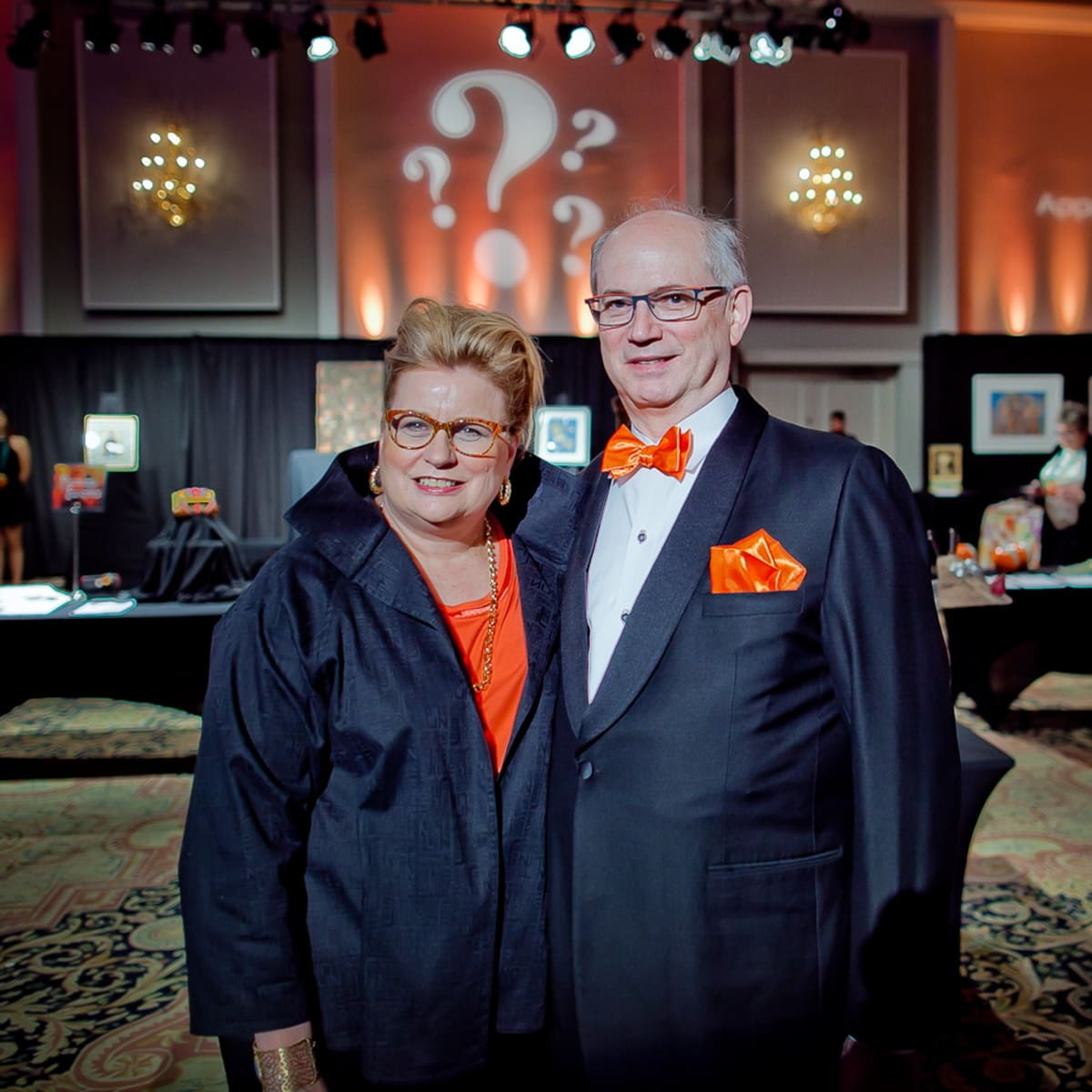 Orange Show Gala Gala Chairs Lynn Mathre and Stuart O'Dell