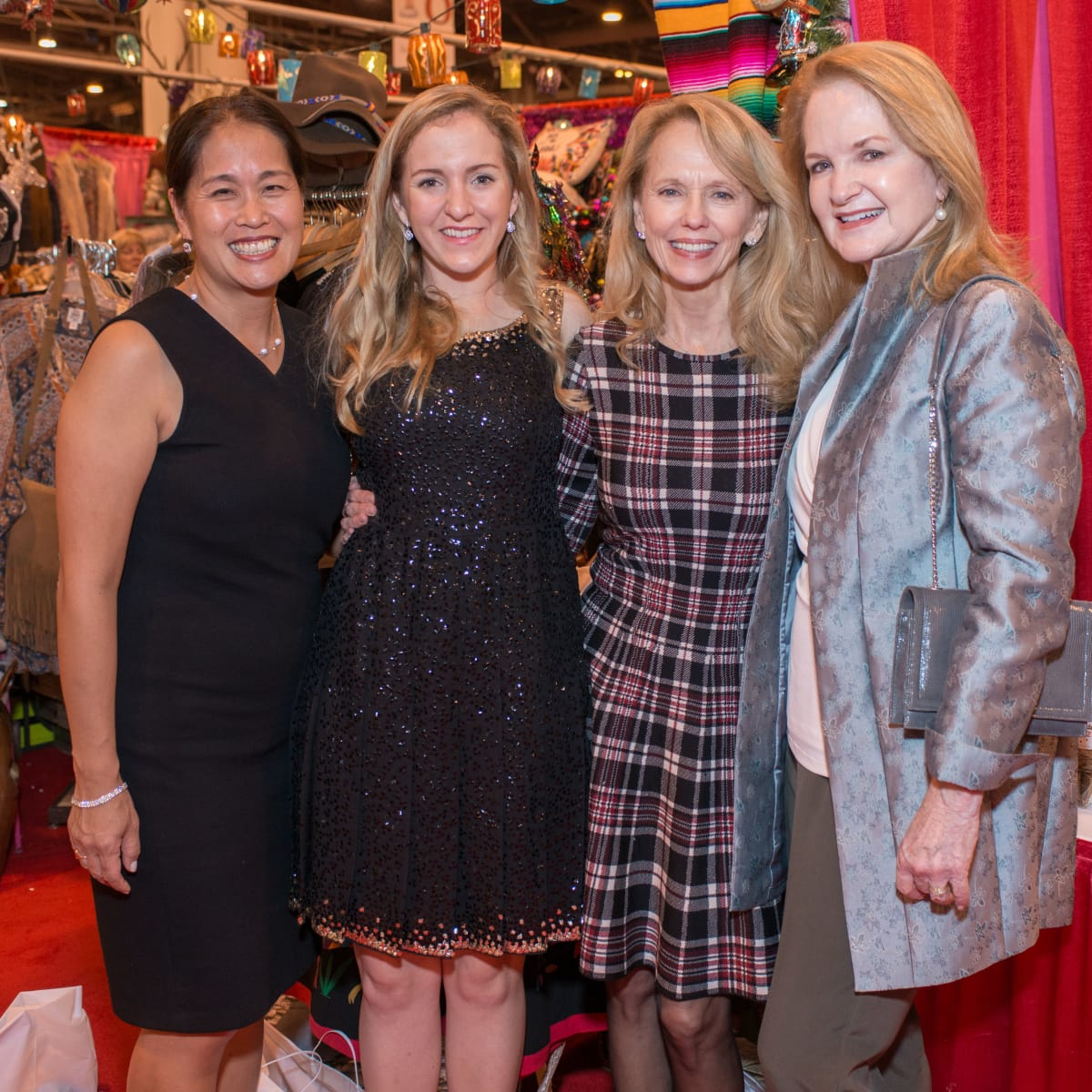 News, Shelby, Nutcracker Market, Nov. 2015, Grace Kim, Kelly Krohn, Susan Sarofim, Sandy Barrett