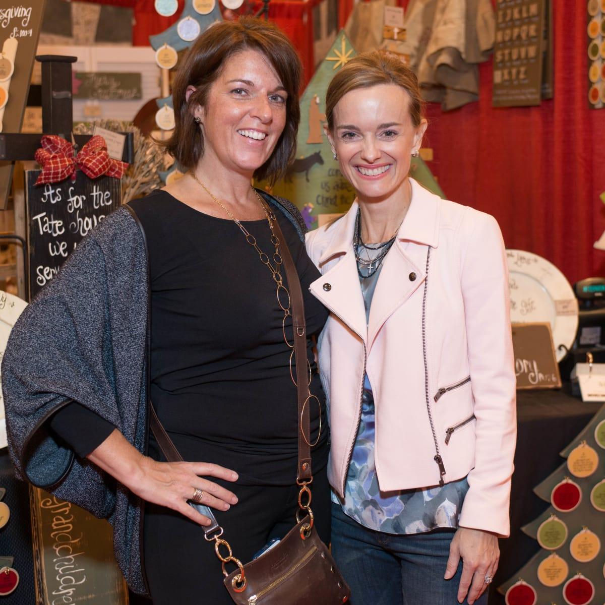 News, Shelby, Nutcracker Market, Nov. 2015, Karen Haysley, Corinne Vandermeer