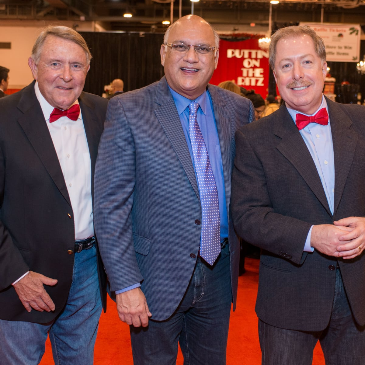 News, Shelby, Nutcracker Market, Nov. 2015, Don Gullquist, Dr. Fred Aguilar, Sam Malone