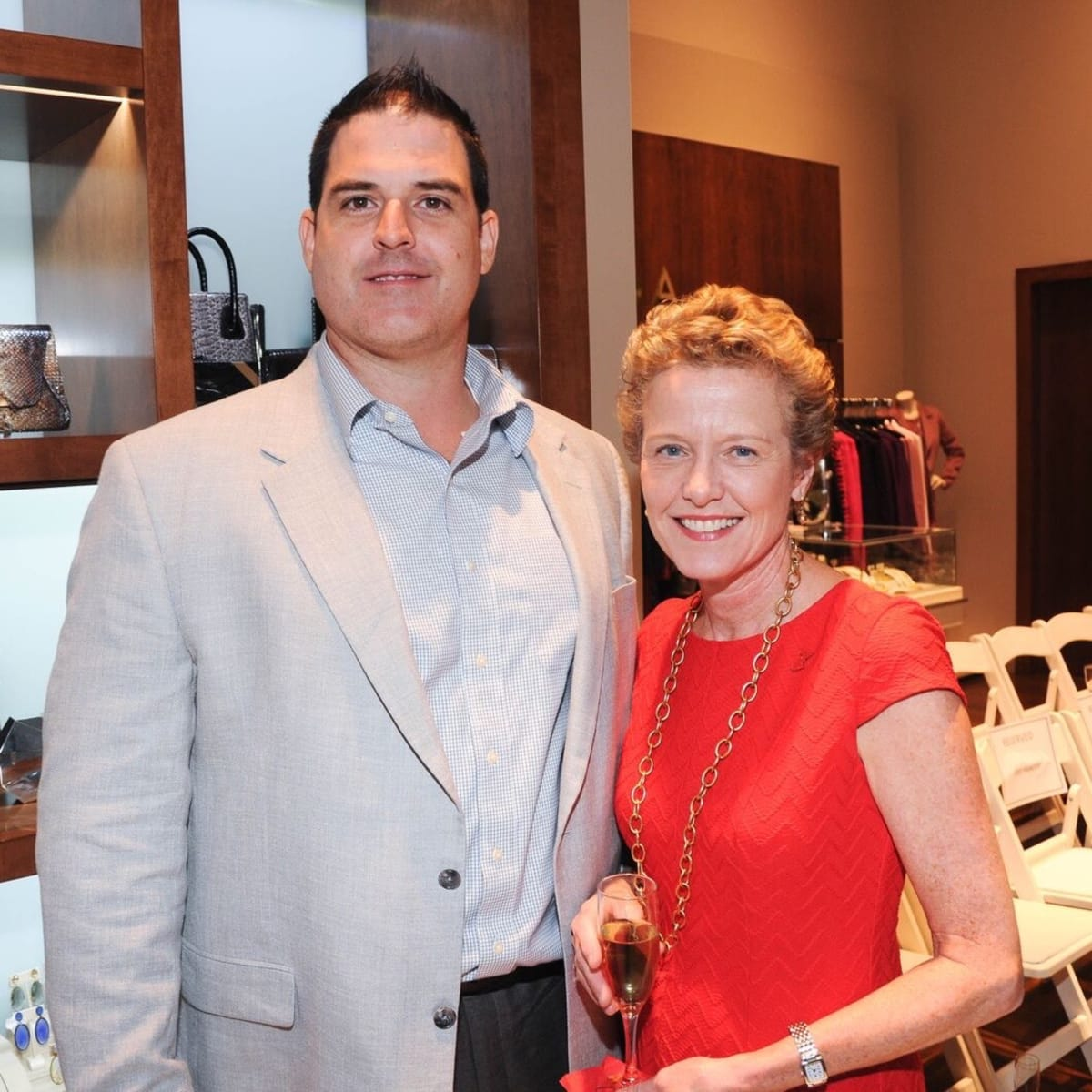 Liancarlo American Heart Association show at Elizabeth Anthony, James Guest, Laura Bellows