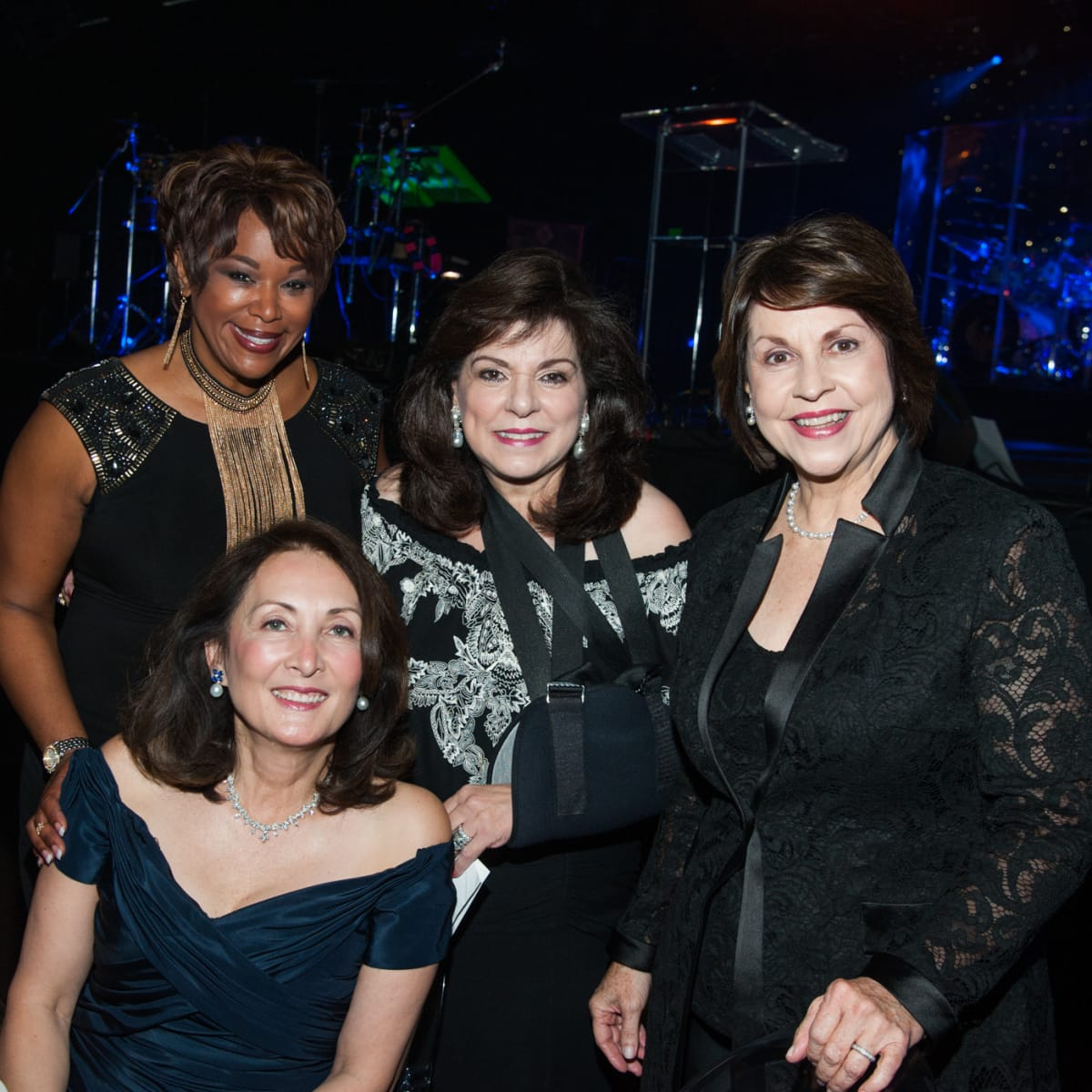 News, Shelby, Houston Children's Charity gala, NOv. 2015, Deborah Duncan, Laura Ward, Rev. Mary Gracely, & Penny Loyd