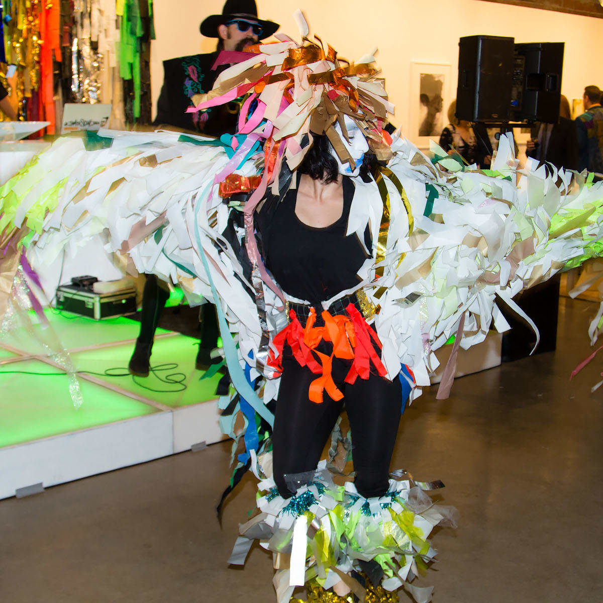 Color Condition dancer at Art for Advocacy 2015