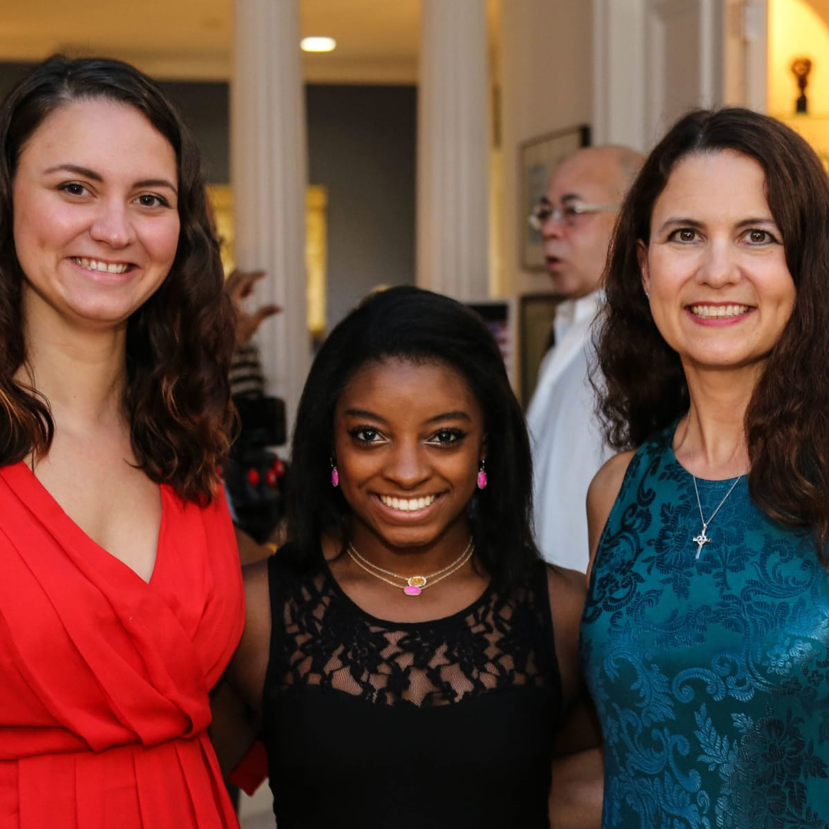 News, Shelby, Simone Biles reception, Nov. 2015, Raquel Riddle, Simone Biles, Andrea Riddle