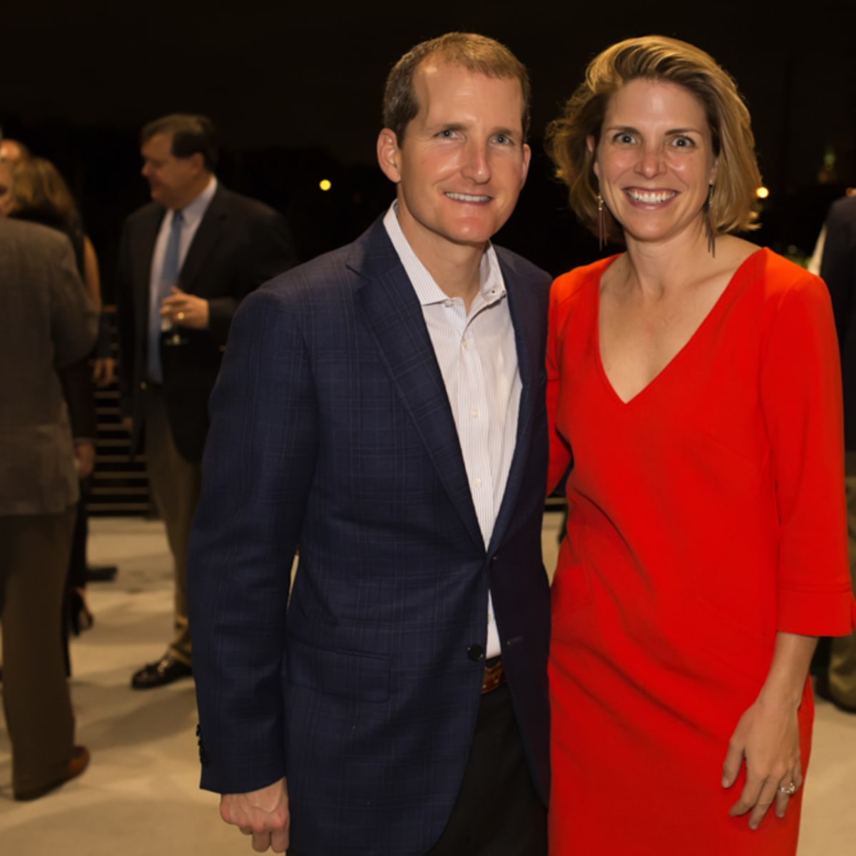 News, Shelby, Buffalo Bayou Partnership gala, Nov. 2015, Carleton Riser and Winifred Riser