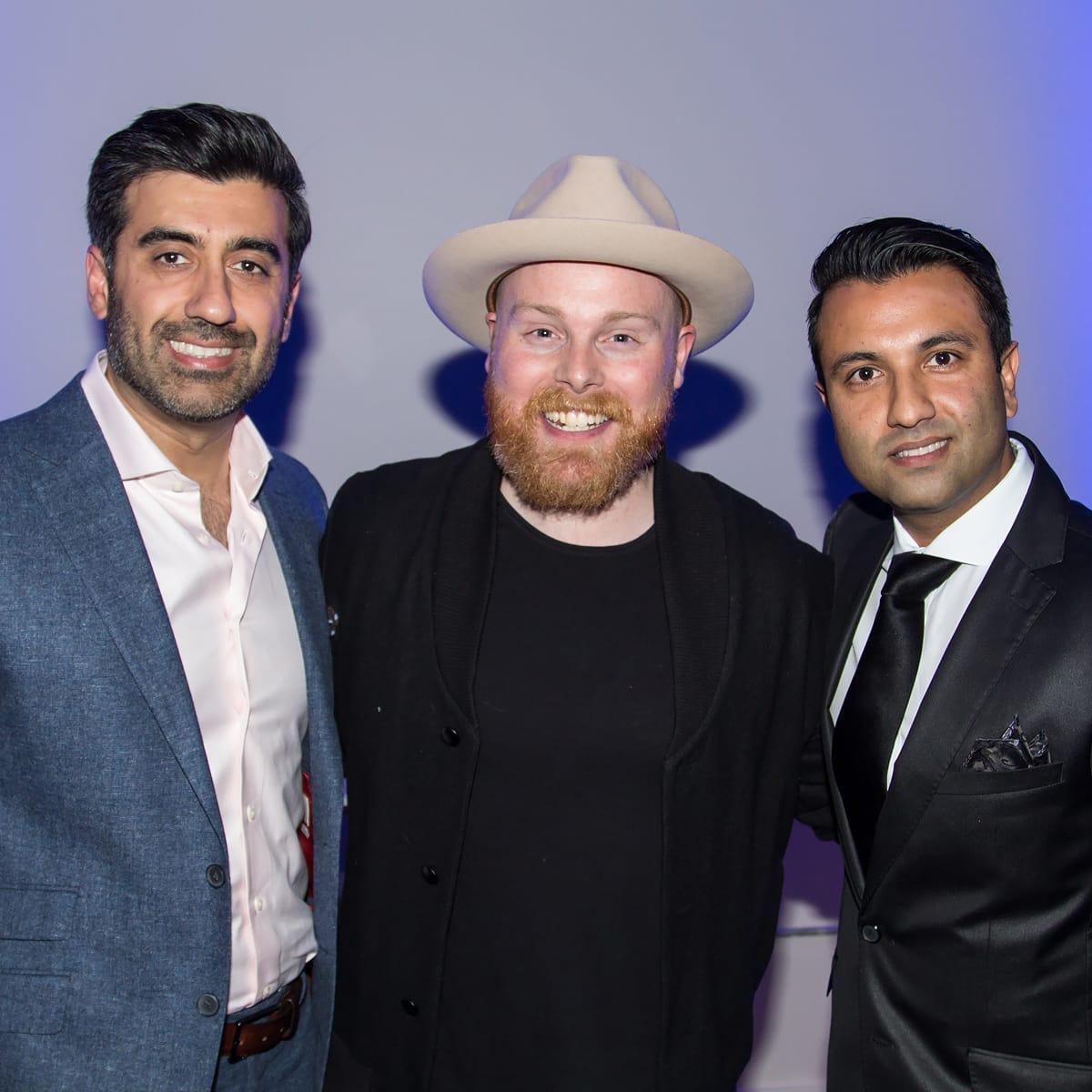 Matt Alexander, Sohail Dar, Imran Sheikh