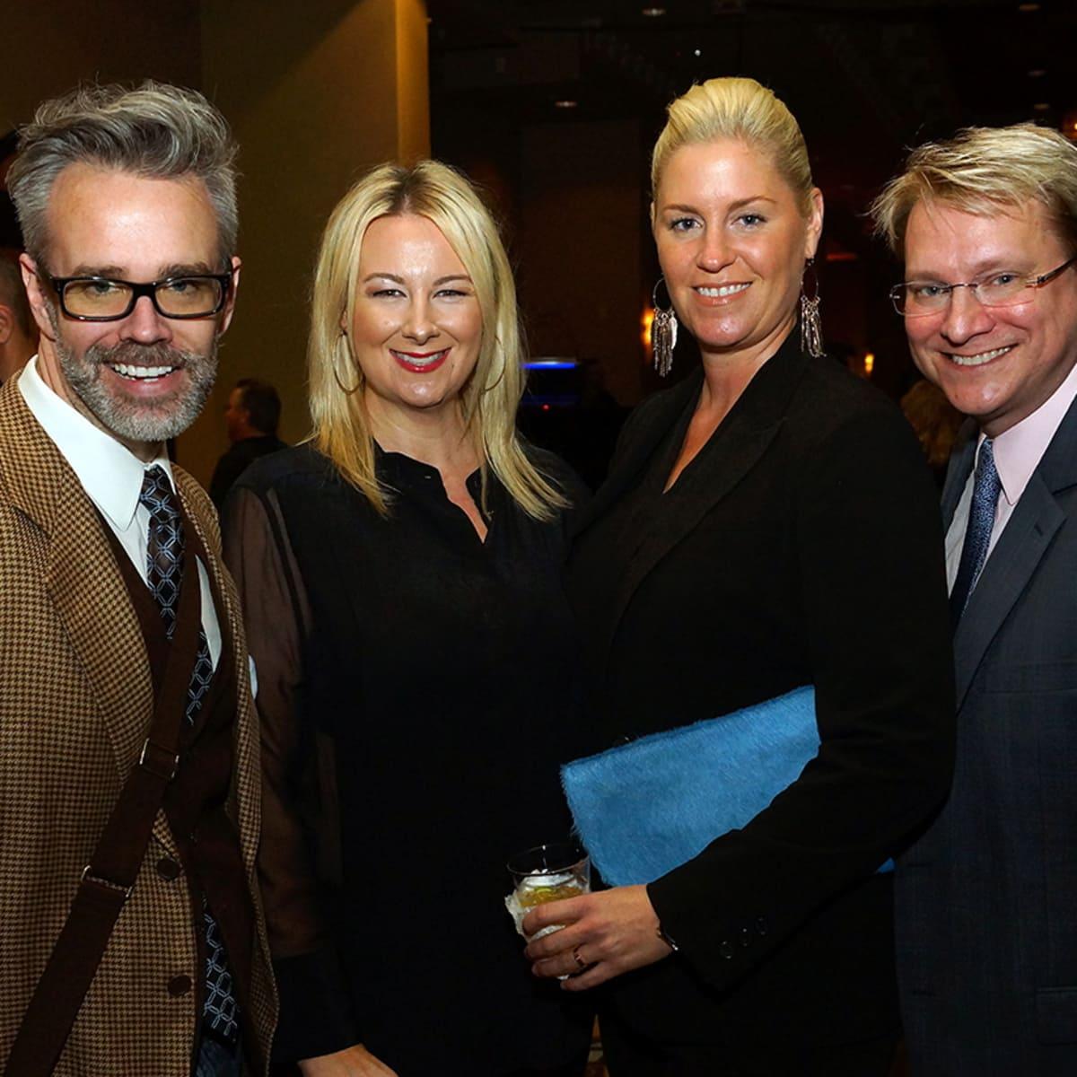 K9s4COPS Gala Michael Pearce, Libby Cagle, Lauren Taft and Matthew Burras