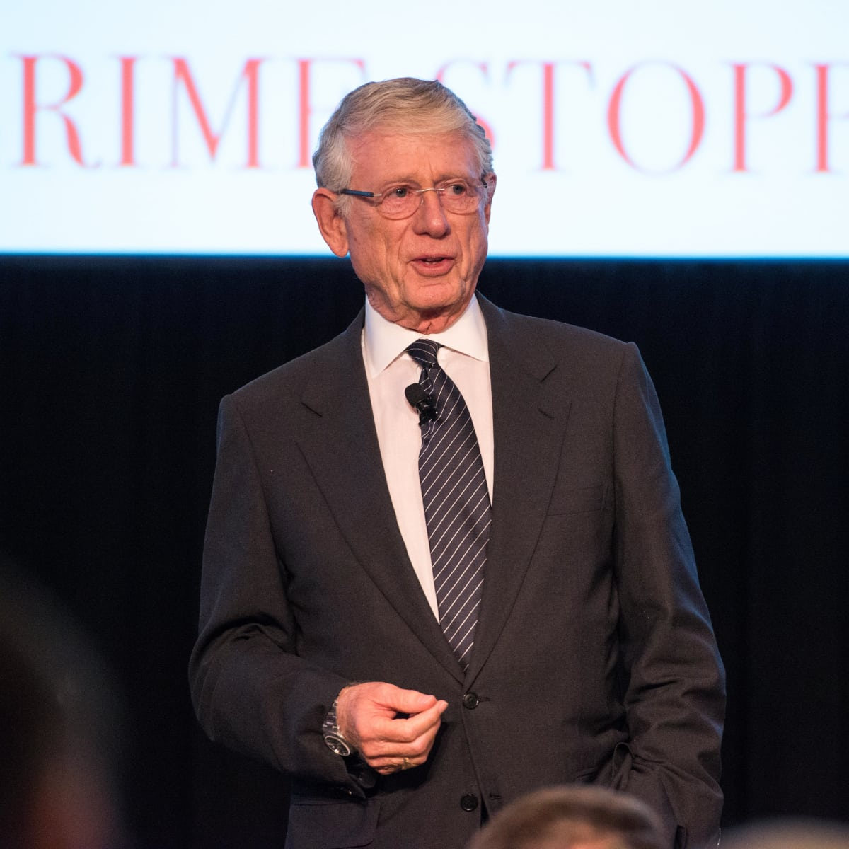 Crime Stoppers Gala Keynote Speaker Ted Koppel