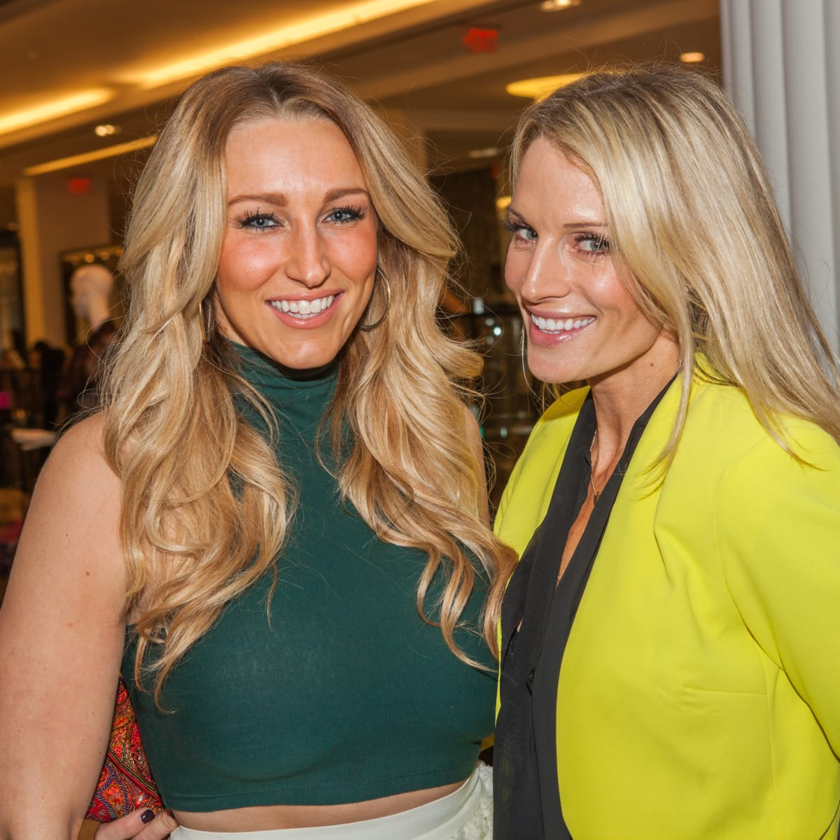 Alyssa Varty, Jennifer Timmins at Heart of Fashion kickoff party