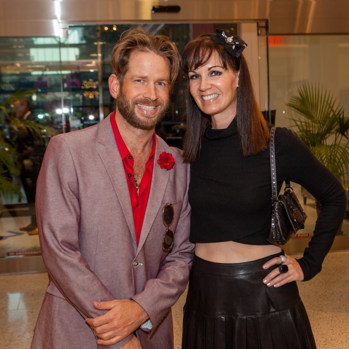 Jeff Shell, Beth Muecke at Heart of Fashion kickoff