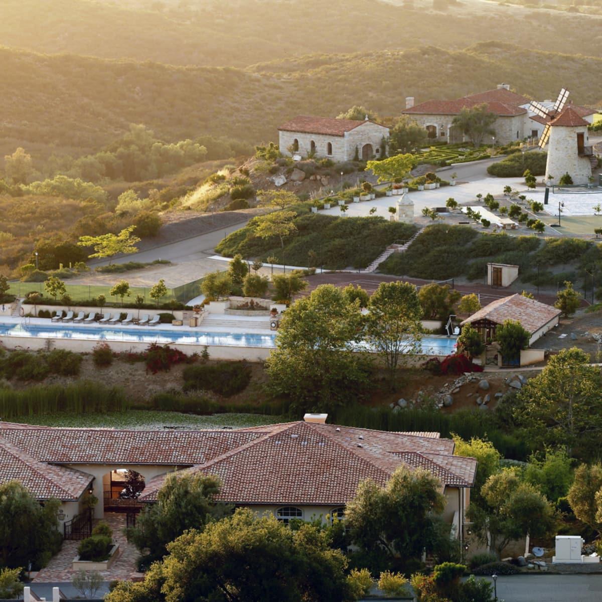 Cal-A-Vie Spa aerial