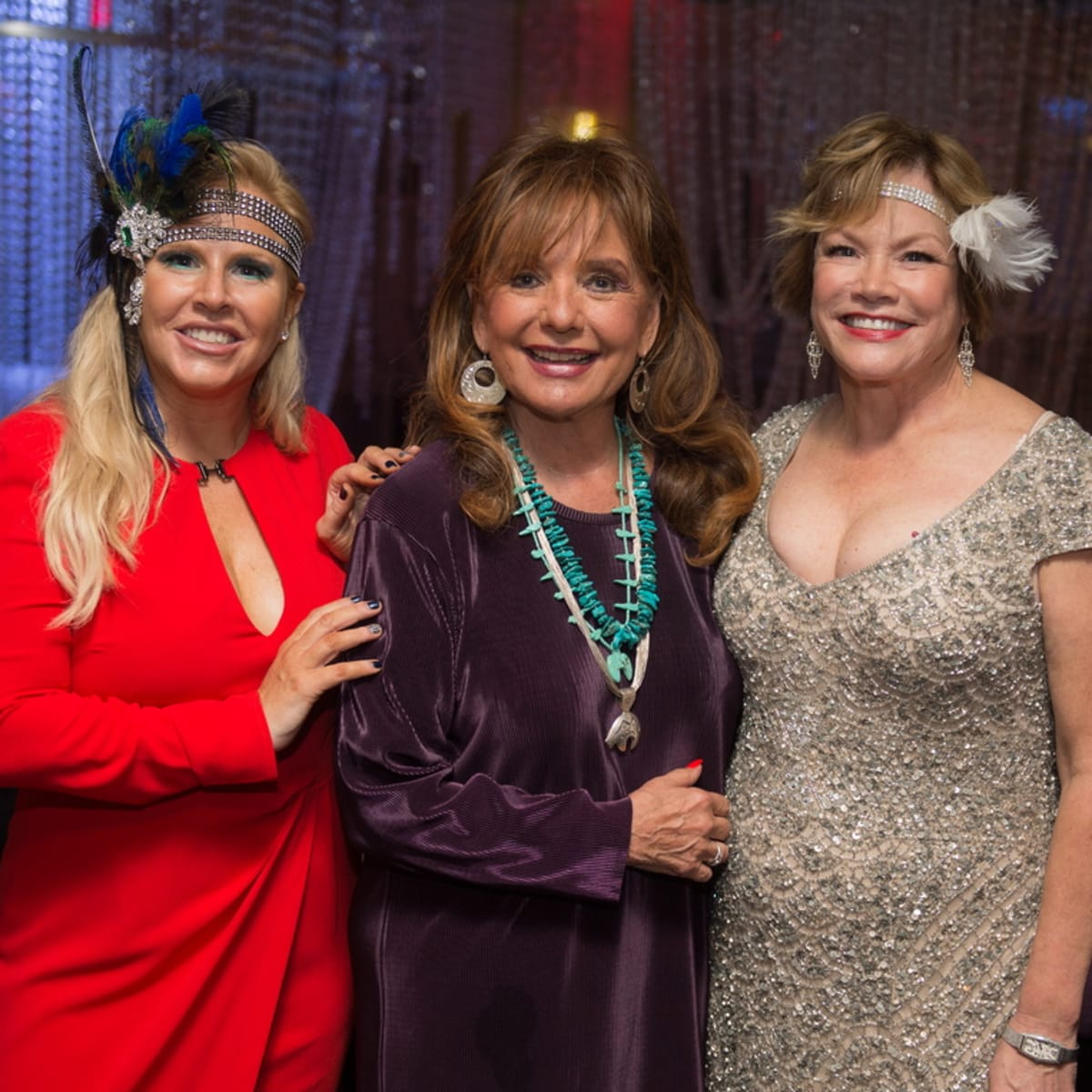 Arthritis Foundation Bone Bash Co-Chair Rita Beckett with & Dawn Wells-Mary Ann from Gilligan's Island & Co-char Robin Vann