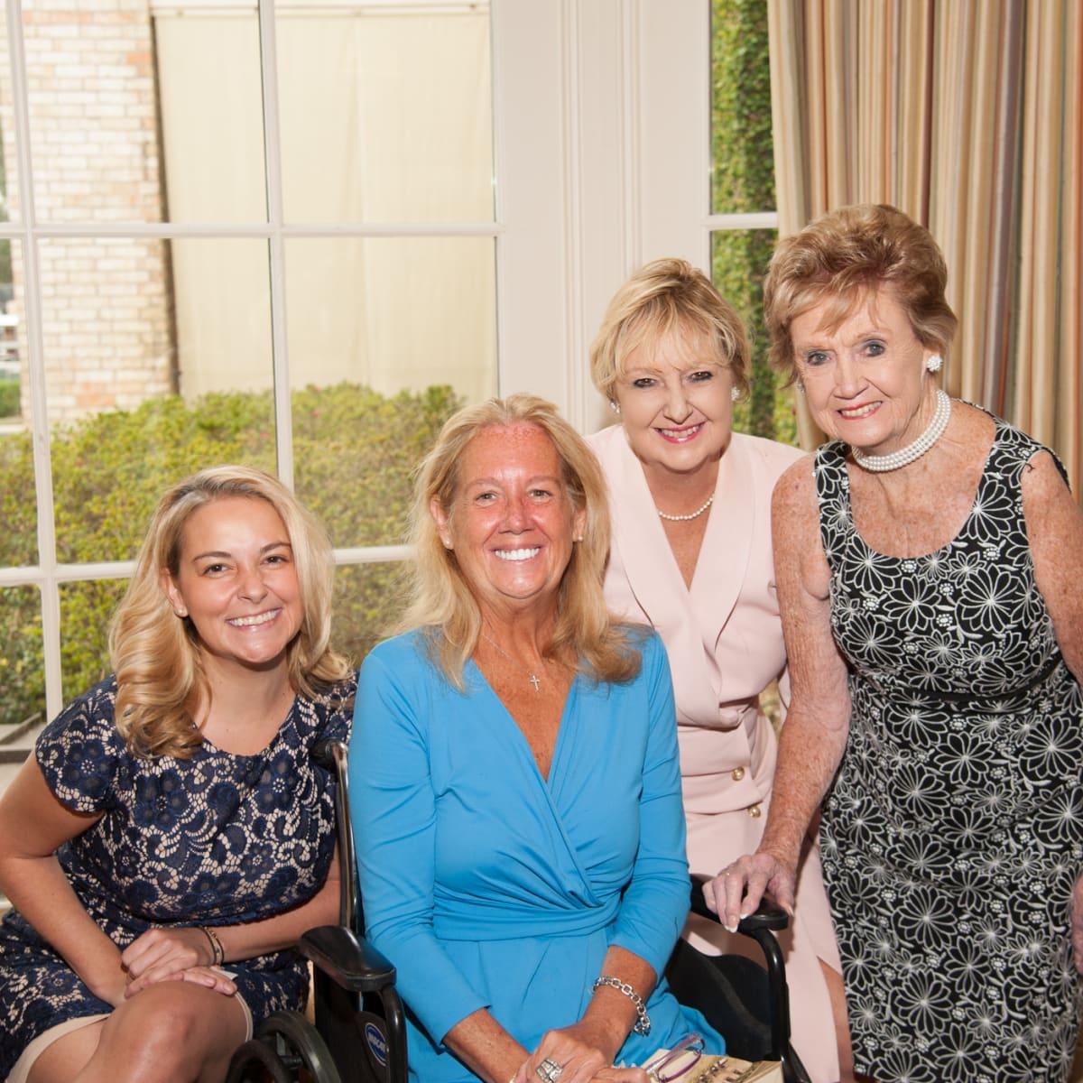 News, shelby, Foundation for Teen Health luncheon, Oct. 2015, Annie Beck, Nancy Beck Deane, Debbie Beck, Rose Beck