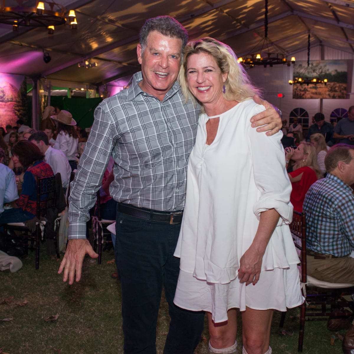 News, Shelby, Nature Conservancy gala, Oct. 2015, Pete Selig, Anne Ashmun
