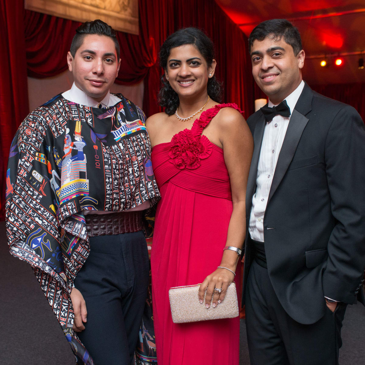 News, Shelby, HGO opening night, Oct. 2015, Christian Miranda, Ishwaria Subbiah, Vivek Subbiah