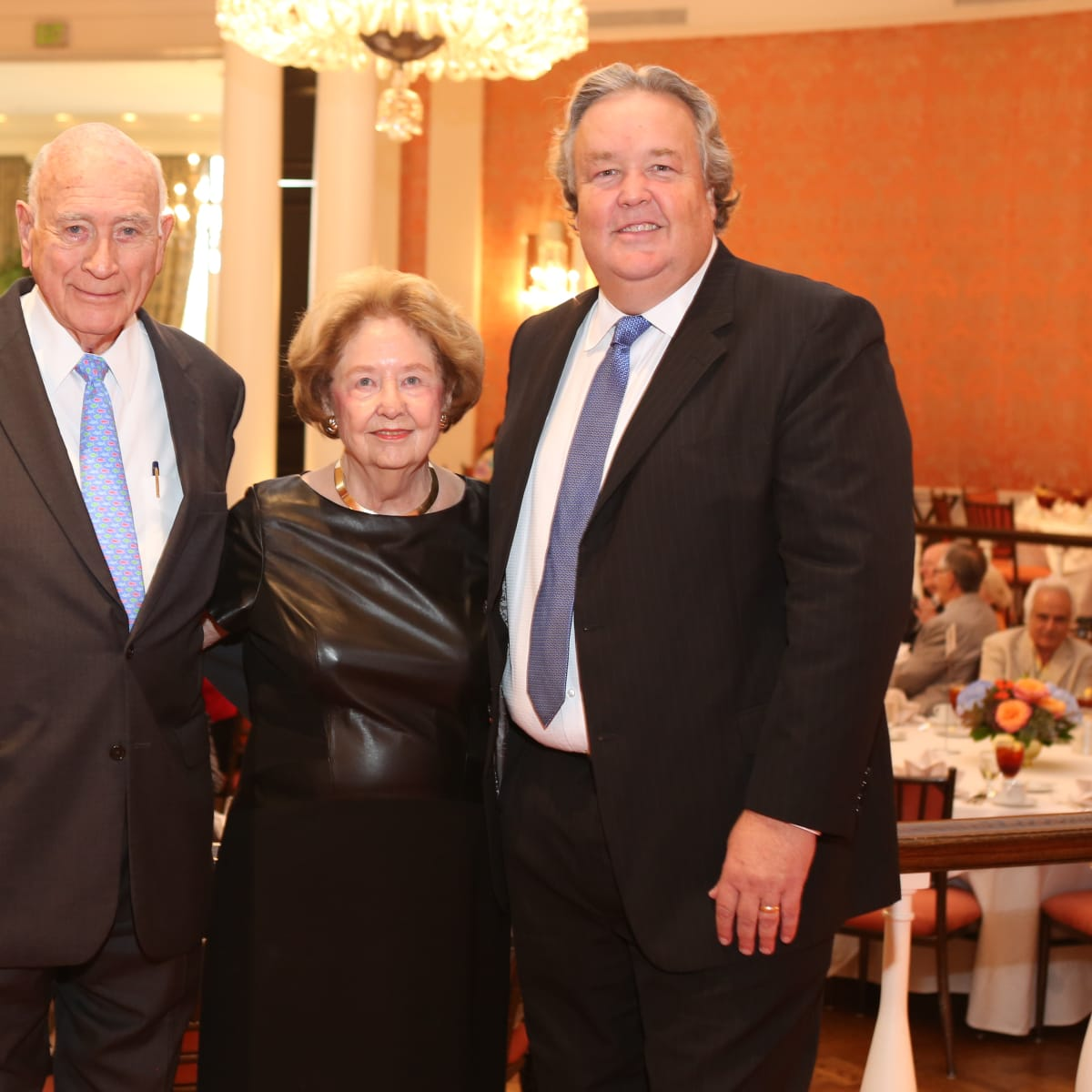 News, Shelby, Houston Museum of Natural Science Luncheon, Oct. 2015, Truett Latimer, Harriet Latimer, Joel Bartsch