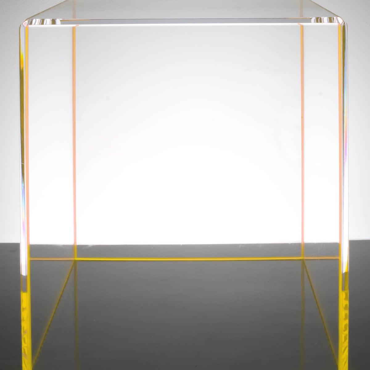 Alexandra von Furstenberg On-the-Rocks yellow end table