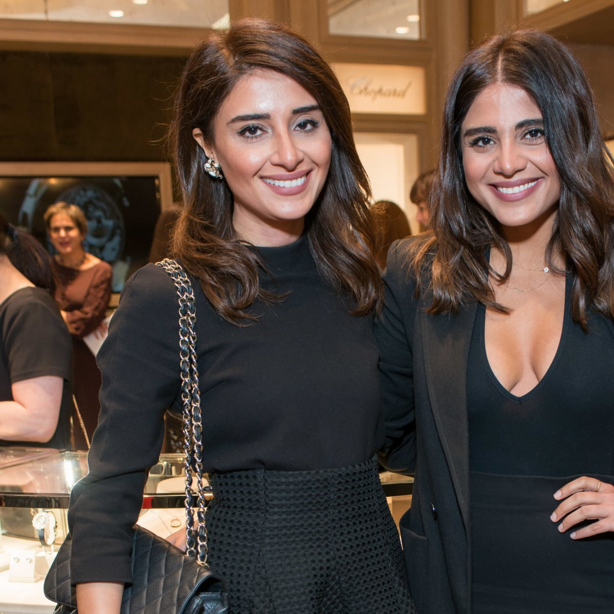 News, Shelby, Chopard opening, Oct. 2015, Saba Jawda, Sarah Jawda