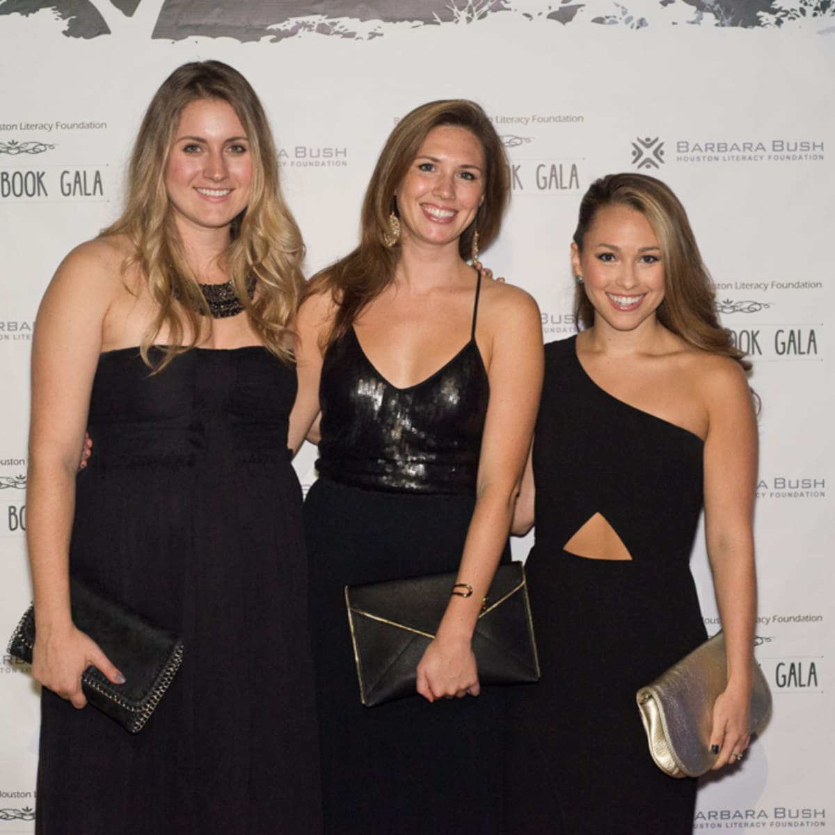 News, Shelby, Barbara Bush Literacy YP gala, Laura Dwight, Sarah Scully, Christina Gutierrez