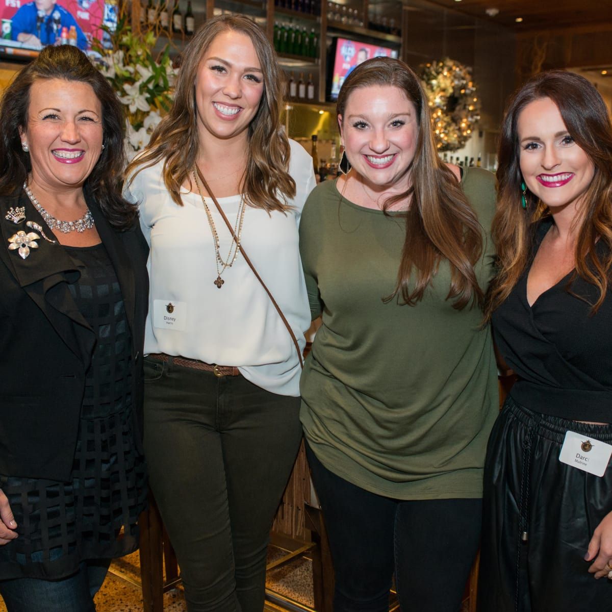 News, Shelby, Holiday Card kickoff, Oct. 2015,  Kimberli Bowman-Bishop, Disney Harris, Lauren Stein, Darci Mulrine