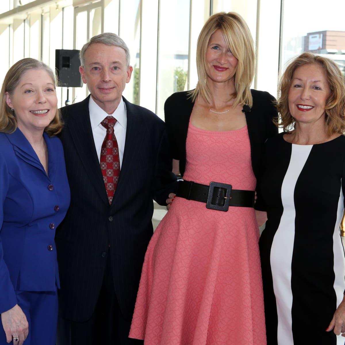 Laura Dern event Nancy Davidson, Chuck Davidson, Laura Dern, June Christensen