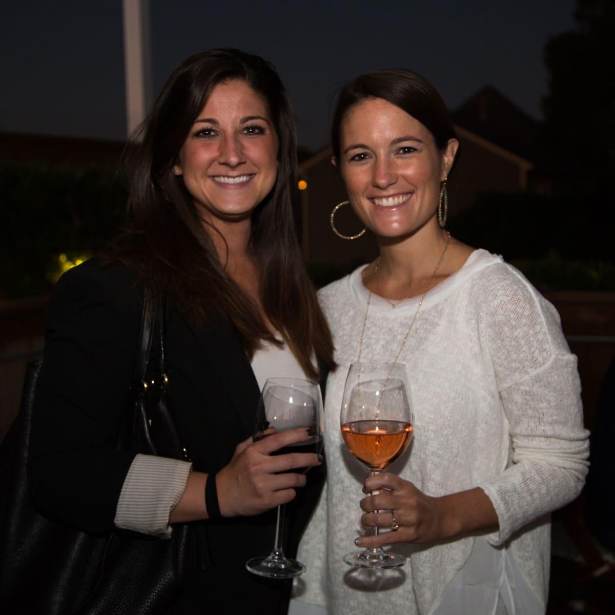 B&B Butchers terrace party Lauren Smith, Callie Anne Holland