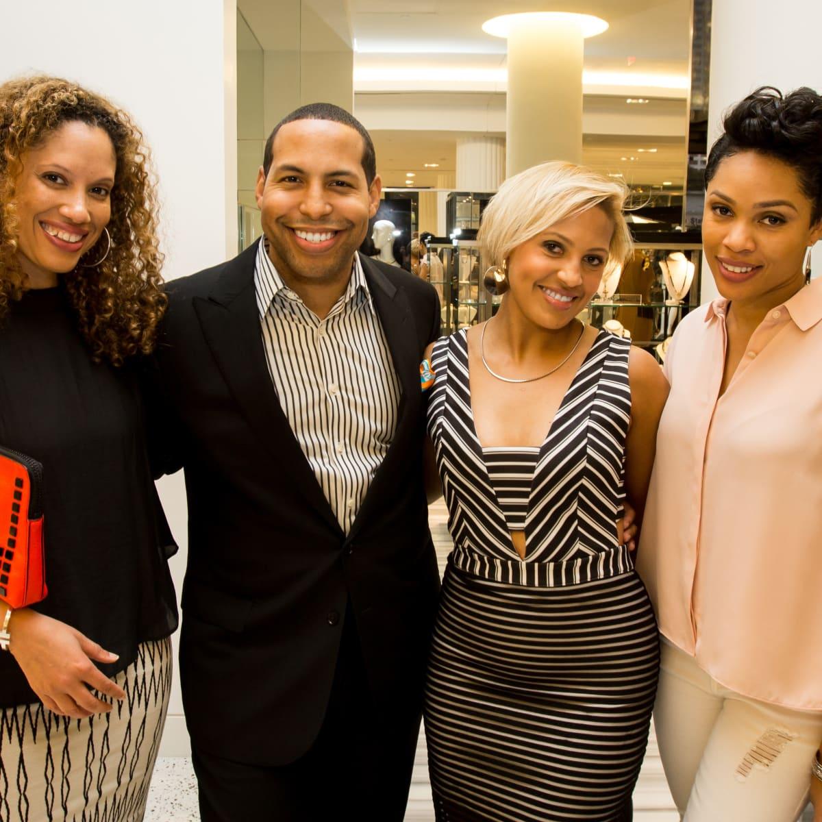Houston Stylemakers 2015 Shonte Byrd, Bryce Kennard, Gabriel Gunn, Ayesha Dumas