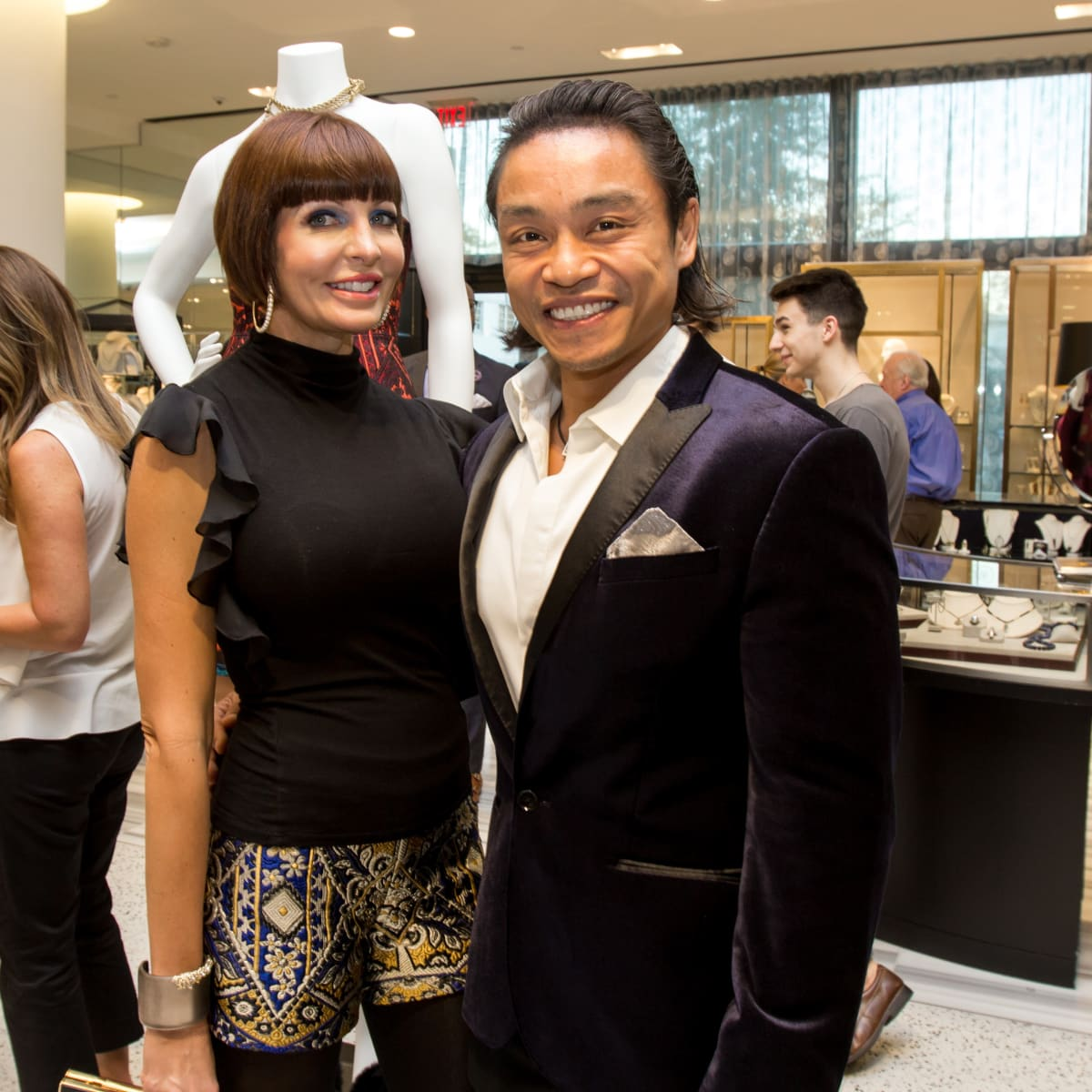 Houston Stylemakers 2015 Staci Henderson, Quang Henderson