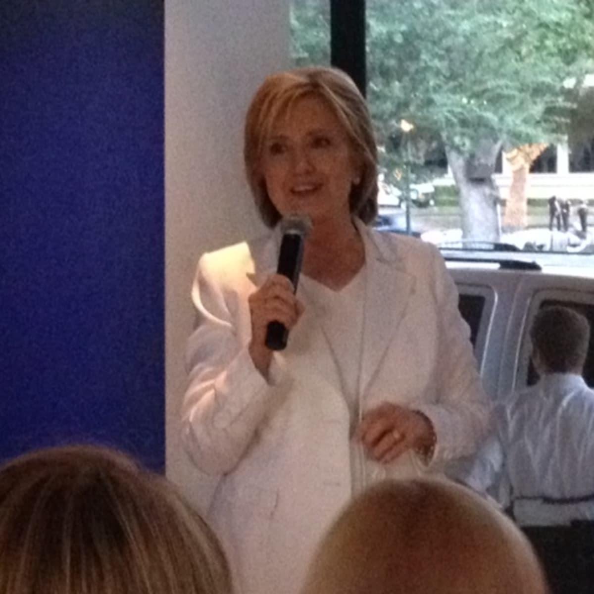 Hillary Clinton at Houston fundraiser