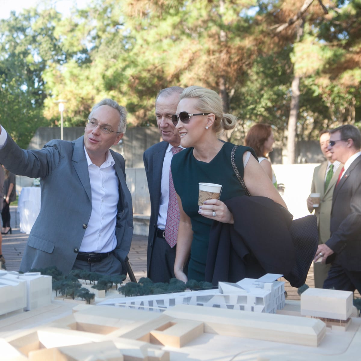 Chris McVoy of Steven Holl Architects at Museum of Fine Arts  Fayez S. Sarofim Campus and the new Glassell School of Art