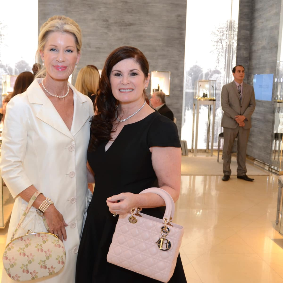 Dior grand opening Penny Wright, Christine Napier