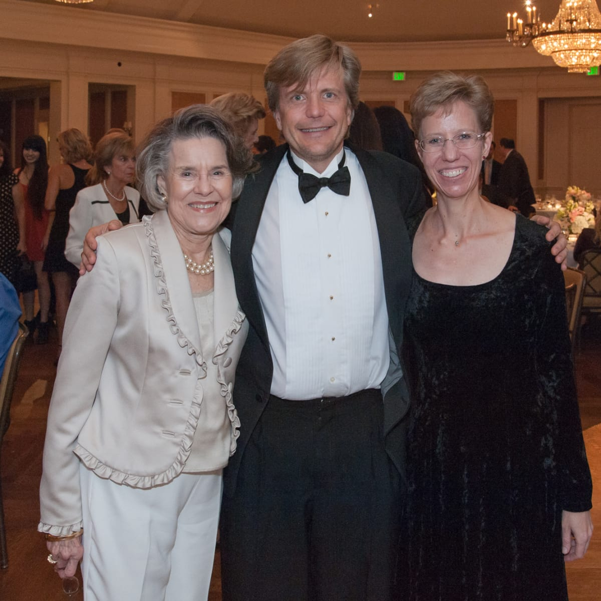 Houston, River Oaks Chamber Orchestra Gala, October 2015, Suzanne Lyons, Erik Grantor and Tammy Linn