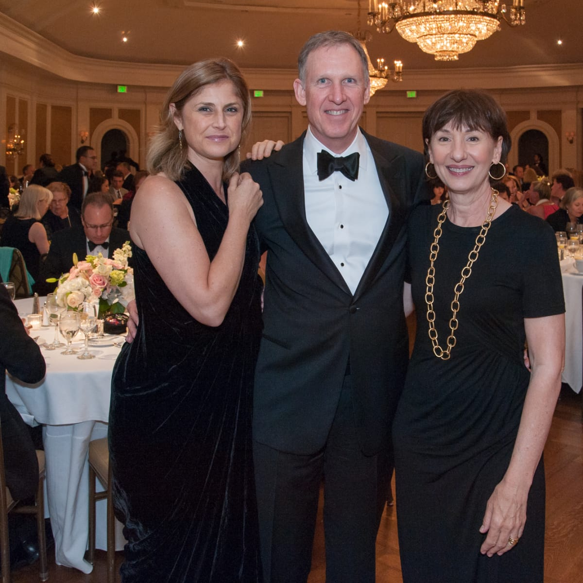 Houston, River Oaks Chamber Orchestra Gala, October 2015, Suzanne LeFevre, Scott and Betsy Baxter