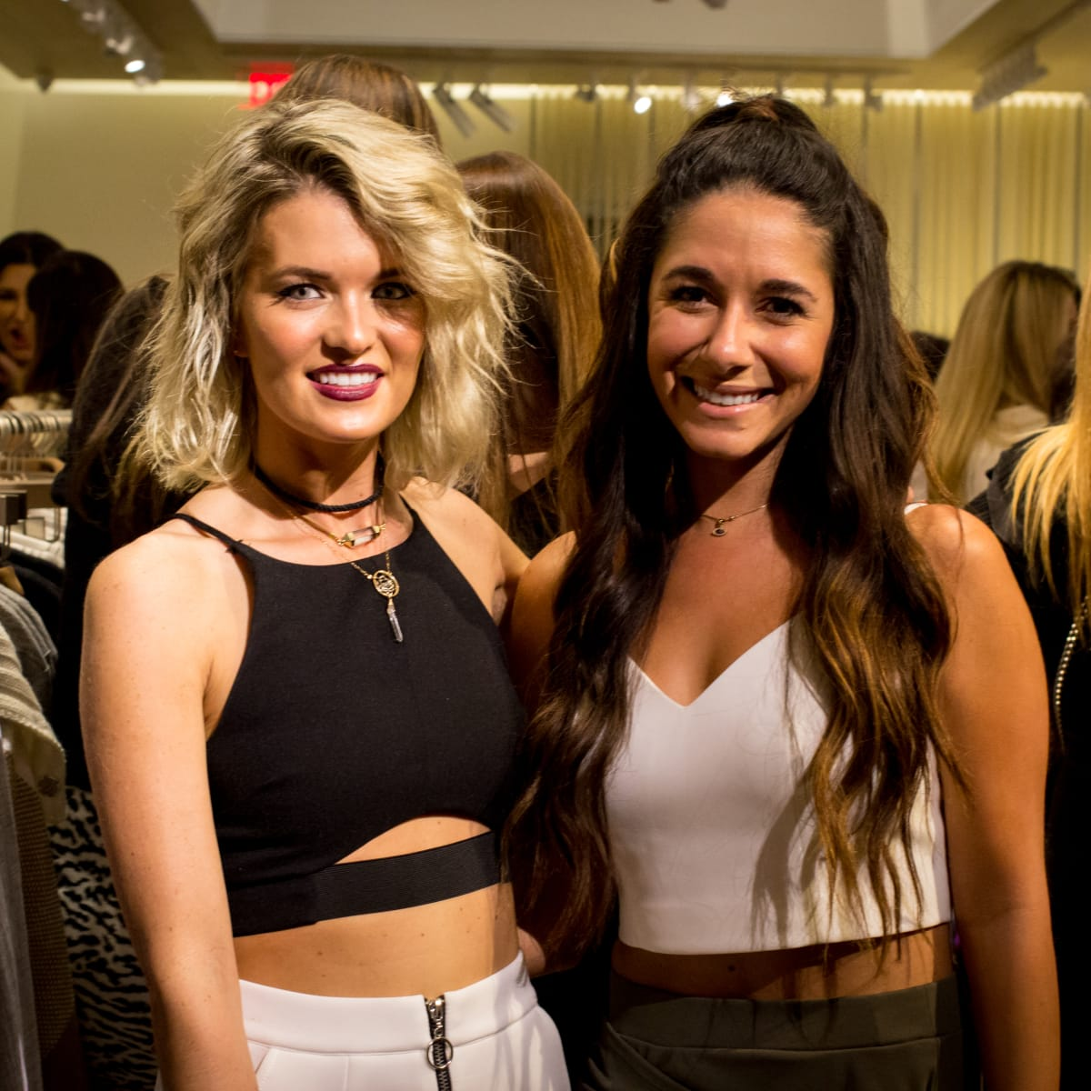 News, Shelby, Intermix opening, Oct. 2015 Taylor Crowley, Shireen Hadi