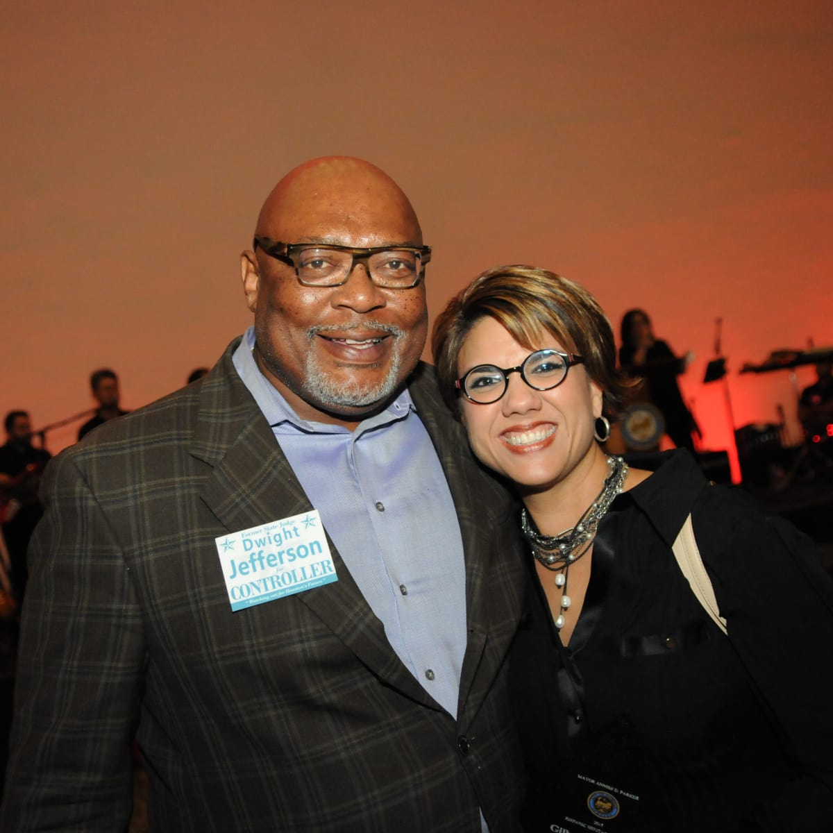 News, Shelby, Mayor's Hispanic Heritage Awards, Oct. 2015, Dwight Jefferson, Dee Dee Garcia